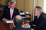 Secretary Kerry Meets With Brazilian Foreign Minister Patriota