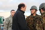 Ambassador Roos Discusses Relief Efforts With Japan Self Defense Forces