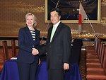 Secretary Clinton Meets Japanese Foreign Minister Katsuya Okada
