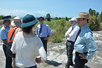USAID Deputy Administrator Donald Steinberg visits Danang Airport where dioxin remediation project will be conducted
