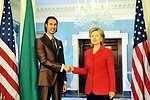 Secretary Clinton Meets With Libyan National Security Advisor