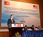 USAID Mission Director Joakim Parker provides and overview of the new strategy.
