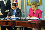 Secretary Clinton and Croatian Foreign Minister Jandrokovic Sign an Open Skies Agreement