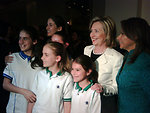 Secretary Clinton Meets With Costa Rican President-elect
