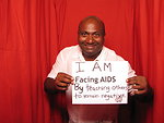 I AM FACING AIDS by teaching others to remain negative.