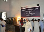 Training of meter readers at IESCO on new meter reading process