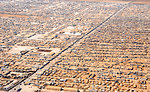An Aerial View of the Za'atri Refugee Camp
