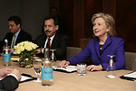 Secretary Clinton Meets With Indonesian Foreign Minister Natalegawa in London