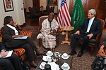 Secretary Kerry, Assistant Secretary Thomas-Greenfield Discuss South Sudan With Former Nigerian President Obasanjo