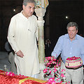 Pakistani Foreign Minister Qureshi and Special Representative Holbrooke Visit the Shah Rukn-e-Alam Shrine