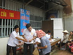 USAID Relief distribution in Giang An Province
