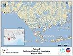 EPA Sediment Sampling Locations May 10, 2010