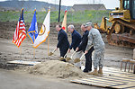 Breaking ground at Camp Parks