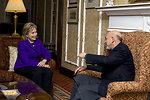 Secretary Clinton With President Karzai