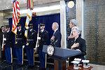 Secretary Kerry, Vice President Biden, and AFSA President Johnson Recite the Pledge of Allegiance