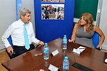 Secretary Kerry Meets With UNMISS Special Representative Johnson in South Sudan