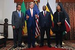 Secretary Kerry Addresses Reporters After Meeting With Ethiopian Regional Foreign Ministers