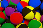 The colored balls