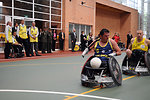 Secretary Kerry Watches a Colombian Wheelchair Rubgy Game