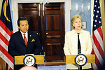 Secretary Clinton Meets With Malaysian Foreign Minister