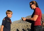 Cub Scouts Earn Geology Badge