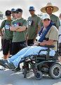"Baseball buddies (""Take a Warrior Fishing"" event at Success Lake)"