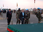 Secretary Clinton Visits MONUC in Goma