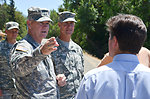 Maj. Gen. Walsh tours Sacramento River levee
