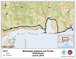 EPA TAGA Air Monitoring Locations June 6, 2010