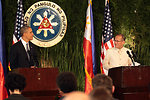 Presidents Obama and Aquino III Hold a Joint Press Conference in Manila