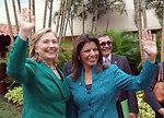 Secretary Clinton With Costa Rican President-elect Laura Chinchilla Miranda