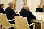 Secretary Kerry Meets With Russian President Putin