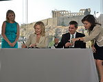Secretary Clinton and Greek Foreign Minister Lambrinidis Sign an Agreement To Protect Greek Cultural Heritage