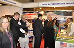 Ambassador Cameron Munter while interacting with the stall holders while visiting the Entrepreneurs stall