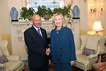 Secretary Clinton Meets With Newly Credentialed Libyan Ambassador Aujali