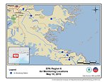 EPA Air Monitoring Locations May 10, 2010