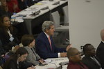 Secretary Kerry Participates in a Meeting on Disability and Development