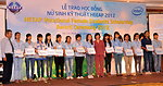 Female Vocational Student Scholarship Recipients