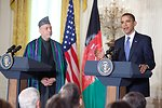 President Obama and Afghan President Karzai Deliver Remarks