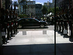 Behind the Scenes: Secretary Clinton Arrives in Uruguay