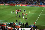 U.S. Men's National Team Walks Off Field After Defeating Algeria