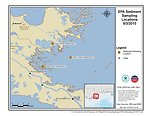 EPA Sediment Sampling Locations May 3, 2010