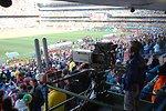 The U.S. Men's National Soccer Team Plays Algeria