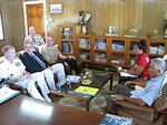 Assistant Secretary Campbell, Adm. Walsh, Brig. Gen. Simcock, and Deputy Chief of Mission Pruett Meet With Kiribati President Tong and Kiribati Foreign Affairs Secretary Lambourne