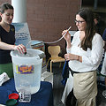 June, 2013 - Testing how much air capacity your lungs have!