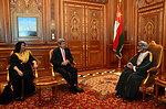 Secretary Kerry and Ambassador Holtz Meet With Omani Sultan Qaboos bin Said Al Said