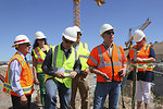 Dutch delegates tour District levees and Folsom project