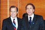 Ambassador Davies Hosts Lunch in Honor of Nicolas Cage