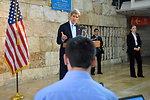 Secretary Kerry Responds to an Israeli Journalist