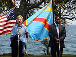 Secretary Clinton Conducts Press Availability With D.R.C. Foreign Minister
